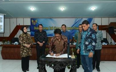 Pemerintah Kota Kediri membuat Memorandum of Understanding (MoU) dengan Pengadilan Negeri Kediri