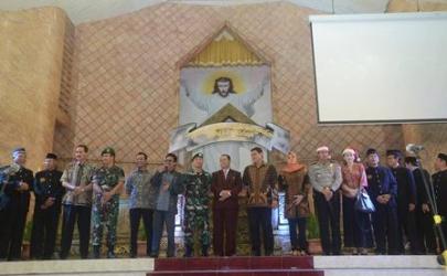 Kunjungan Forpimda Ke Gereja-Gereja Kota Kediri