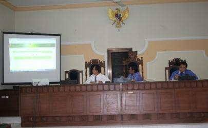 Sosialisasi Hasil Pelatihan SIPP 311-1 di Malang