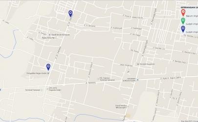 Map CTS-3 yang sudah Menyebar di Pengadilan Negeri Se-Indonesia