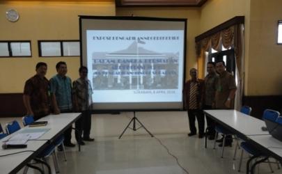 Expose Pengadilan Negeri Kediri dalam Persiapan Akreditasi di Pengadilan Tinggi Surabaya