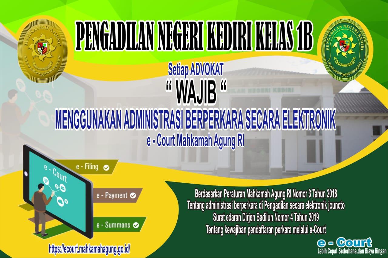 E-COURT PN KEDIRI